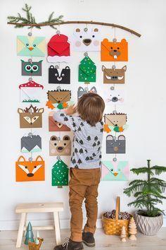 Bei mir ist es zur alljährlichen Tradition geworden, für unsere Kinder einen Adventskalender zu basteln. Mein erster Kalender bestand dam... #weihnachtsbastelnmitkindernunter3