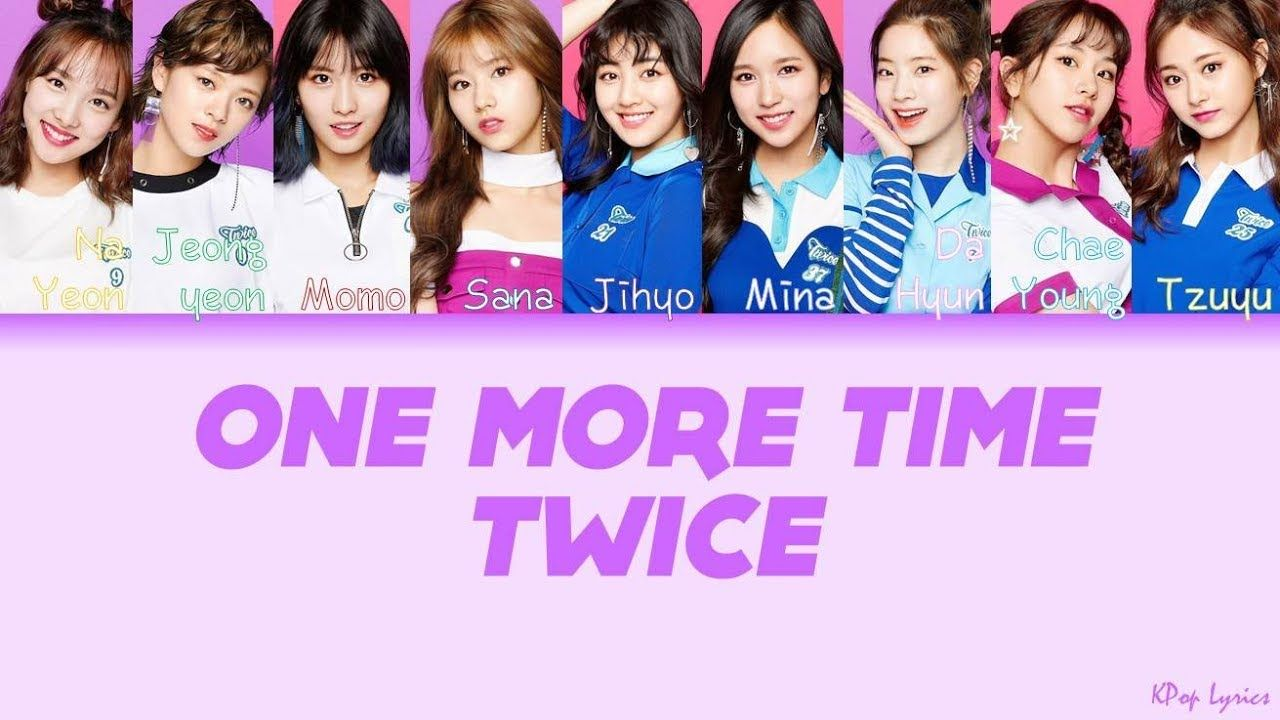 TWICE (トゥワイス/트와이스) - One More Time (Color Coded
