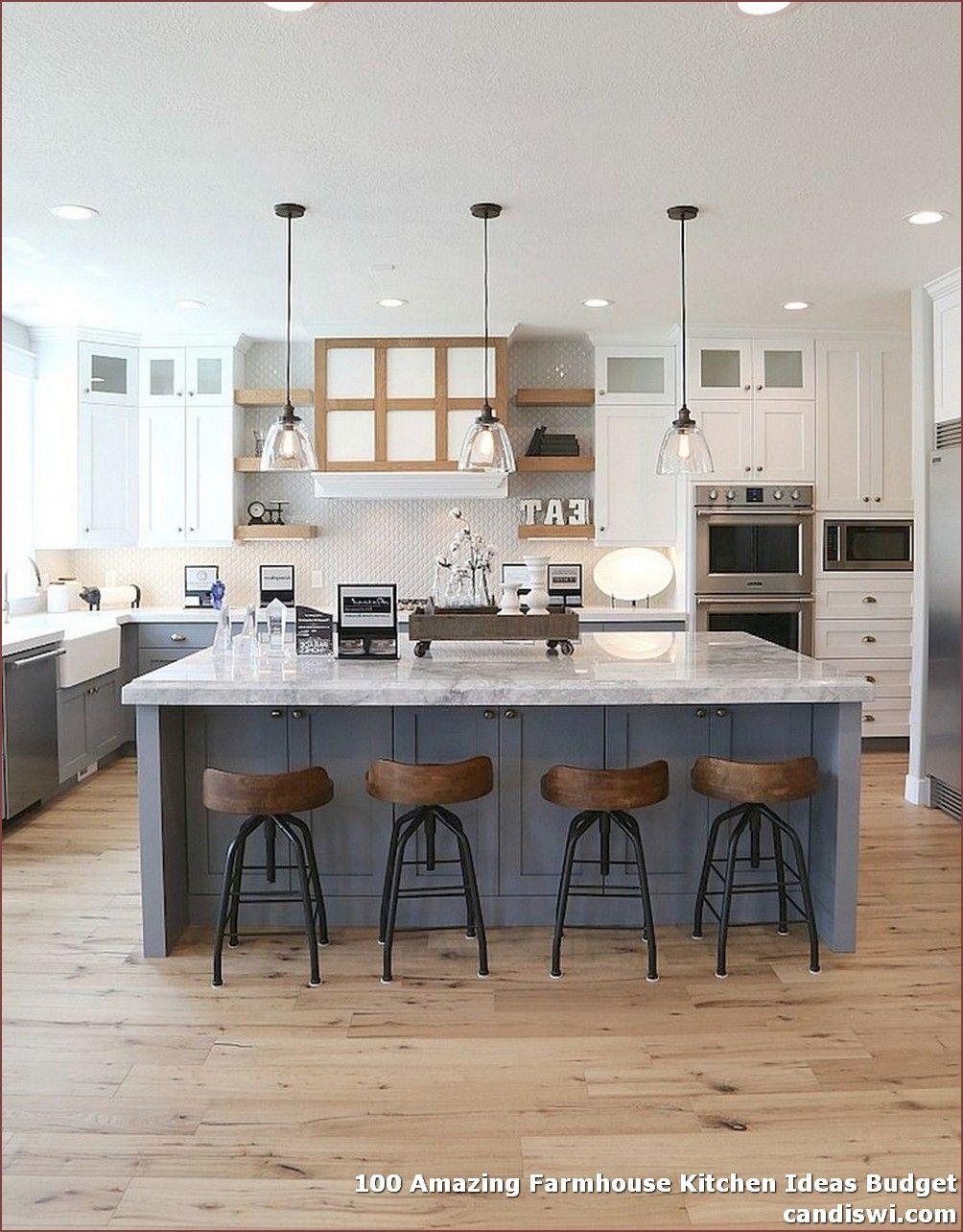 100 Amazing Farmhouse Kitchen Ideas Budget Modern Farmhouse Kitchens Farmhouse Kitchen Design Country Kitchen Farmhouse