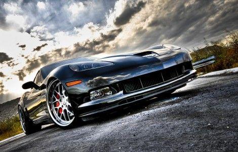 Front Focus 3d Car Effect Hd Wallpaper Chevrolet Corvette Corvette Sports Car Wallpaper
