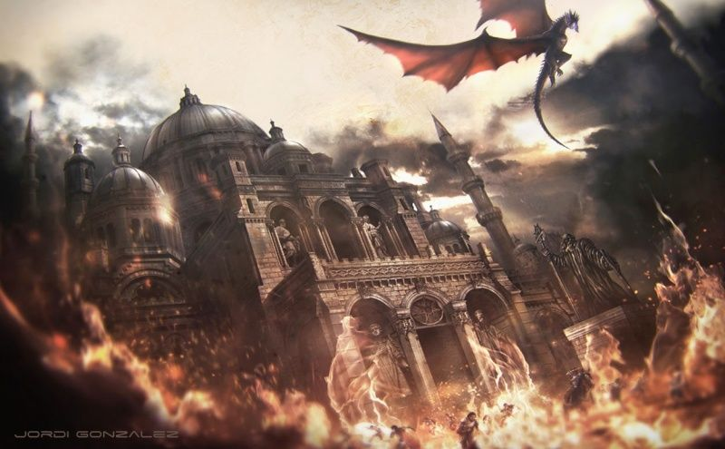 Balerion Game Of Thrones Art Asoiaf Art A Song Of Ice And Fire