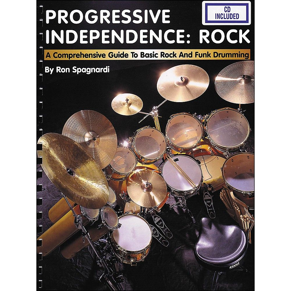 Hal Leonard Progressive Independence Rock Book/CD