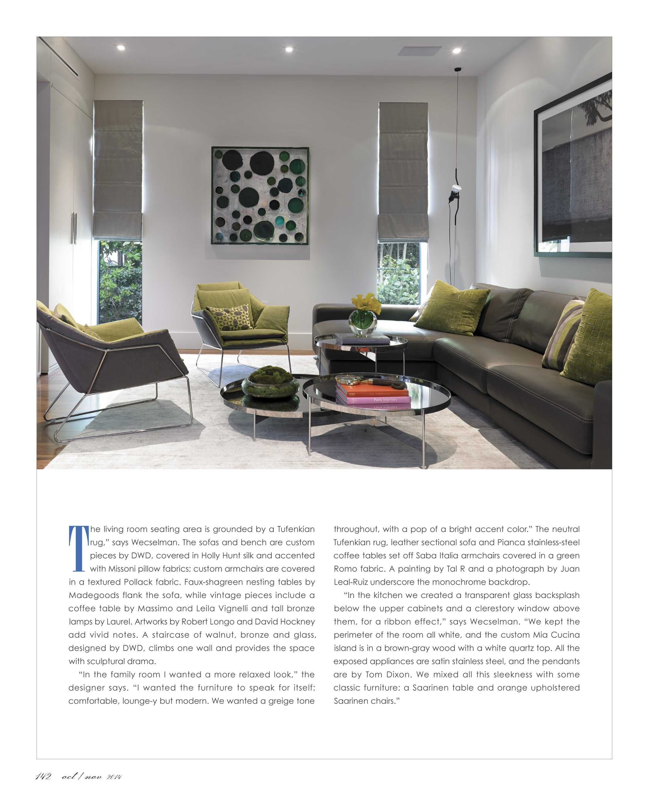 Interiors is the only magazine specifically targeted to the