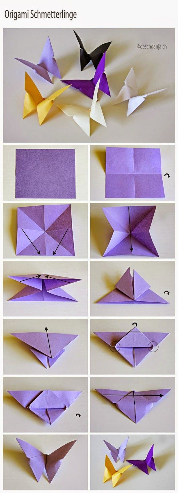From Famf Tower Origami Rama Rama Yang Mudah Butterfly Crafts Paper Crafts Paper Craft Projects