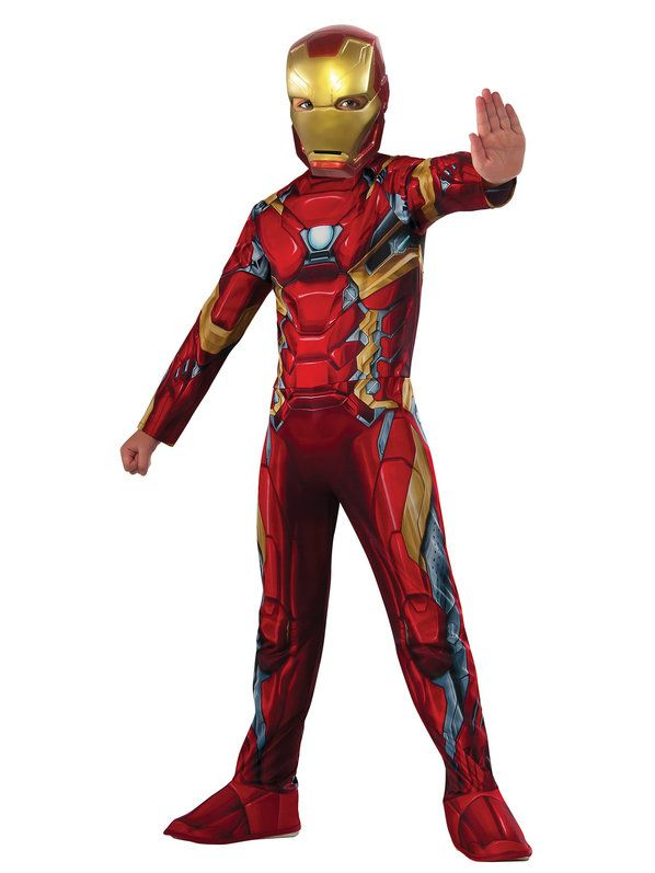 c187f4e92b6 Marvel s Captain America  Civil War - Iron Man Boys Costume in 2019 ...