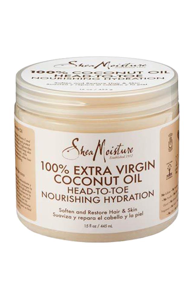 100 extra virgin coconut oil 15 oz head to toe nourishing hydration produit cheveux. Black Bedroom Furniture Sets. Home Design Ideas