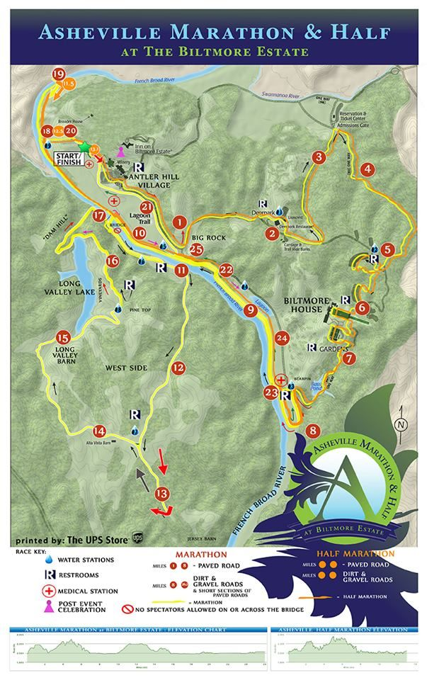 Asheville Elevation Map.Here Is Our 2016 Race Course Elevation Map To Come Join Us