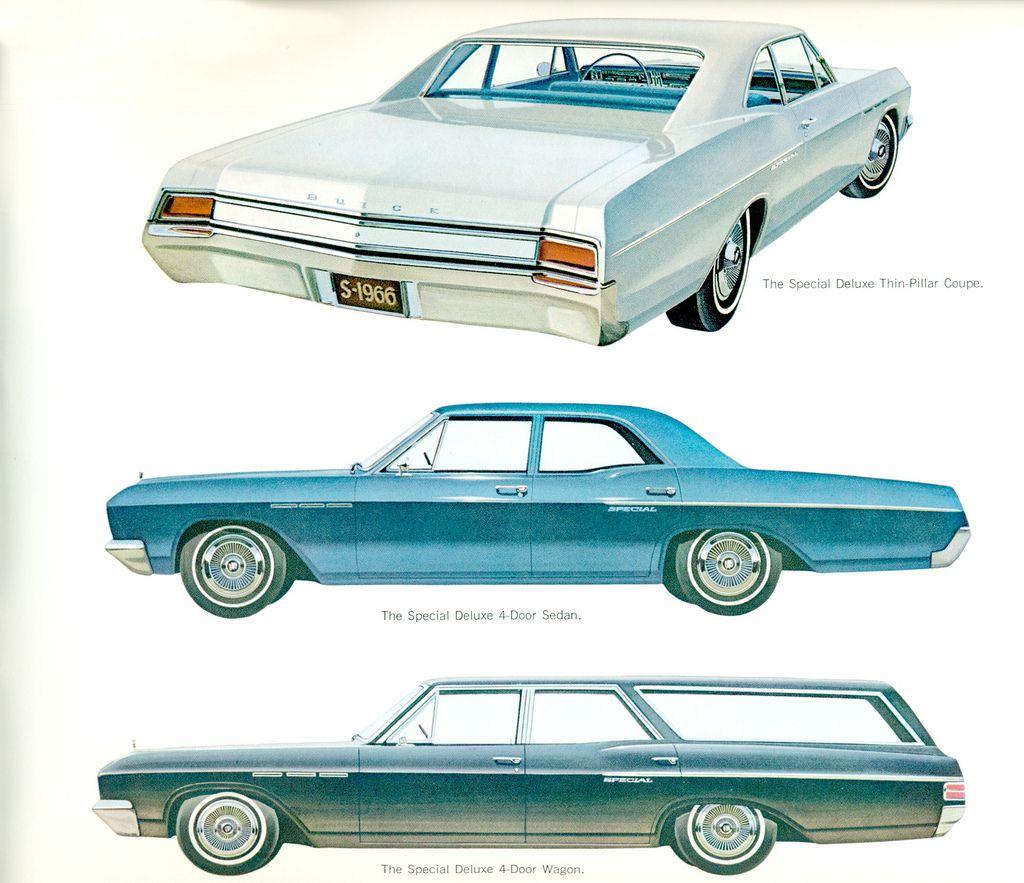 1966 Buick Special Deluxe 2 Door Sedan 4 Door Sedan And Station Wagon Car Station Station Wagon Buick