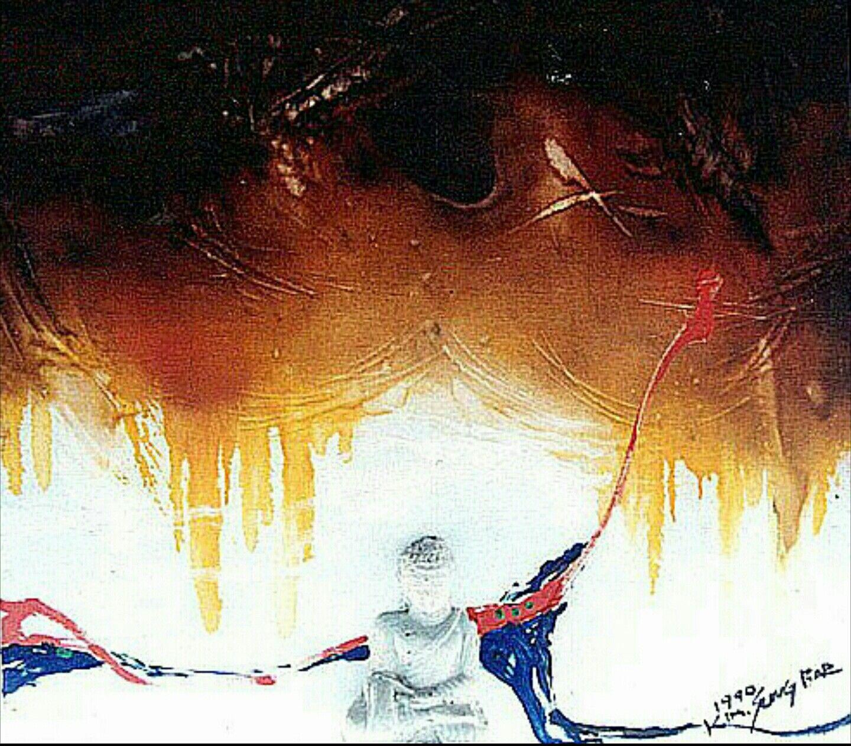 1990年, oil on canvas