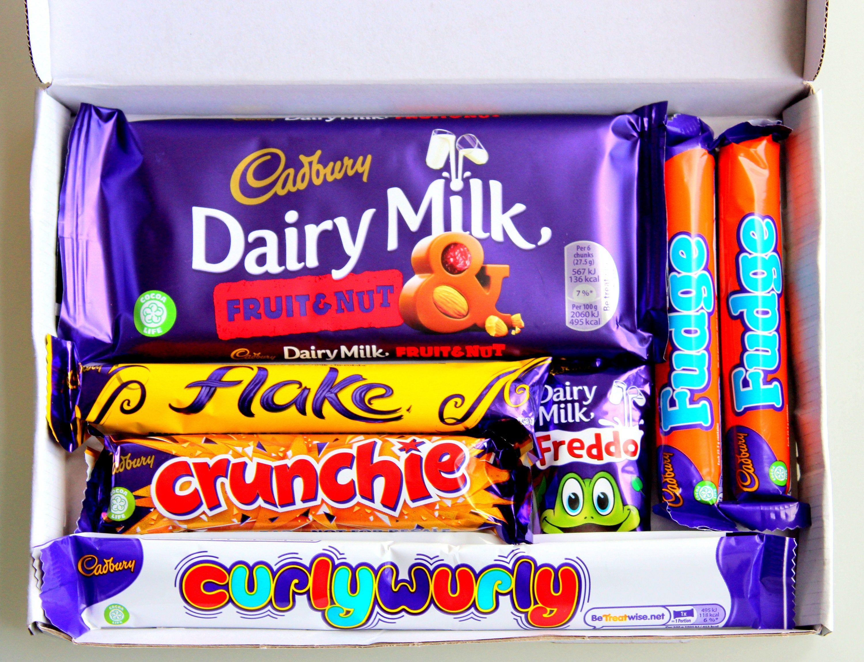 Cadbury milk chocolate gift box present hamper dairy milk