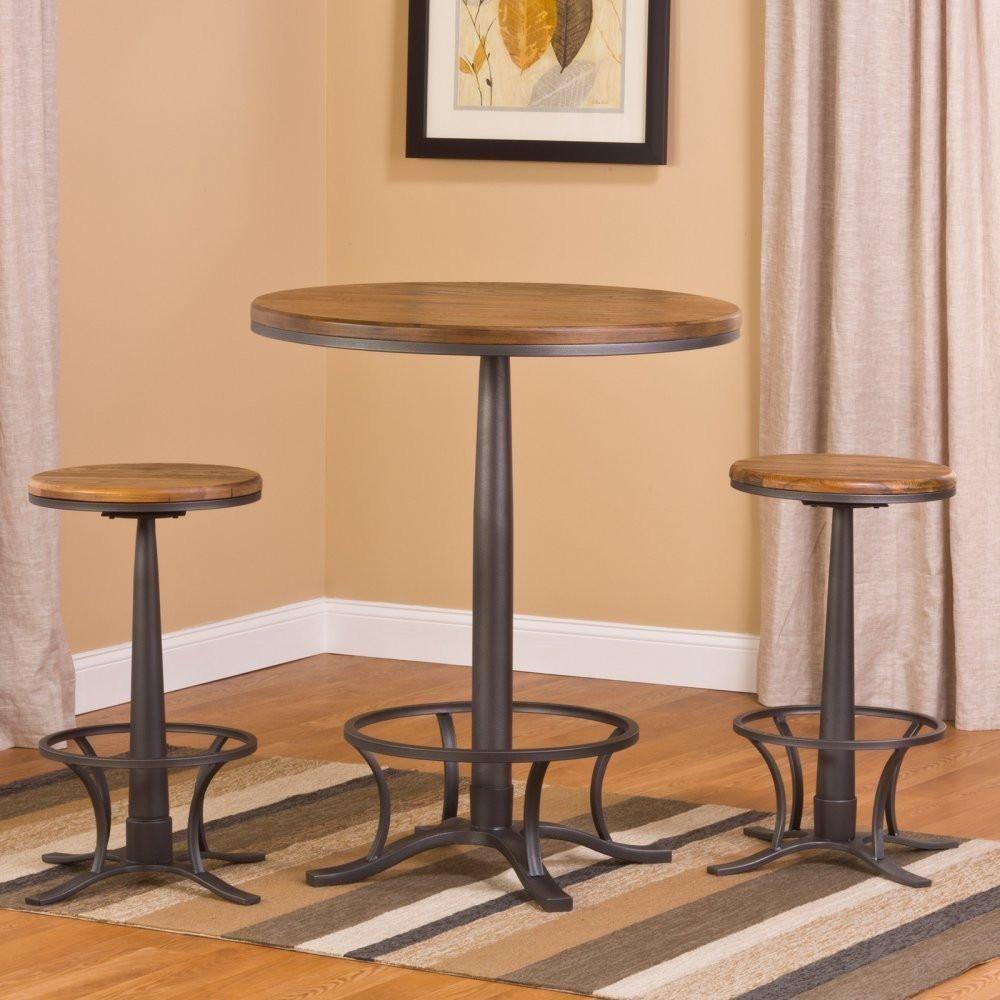 Hillsdale Furniture 5441PTBR Westview Bar Height Bistro