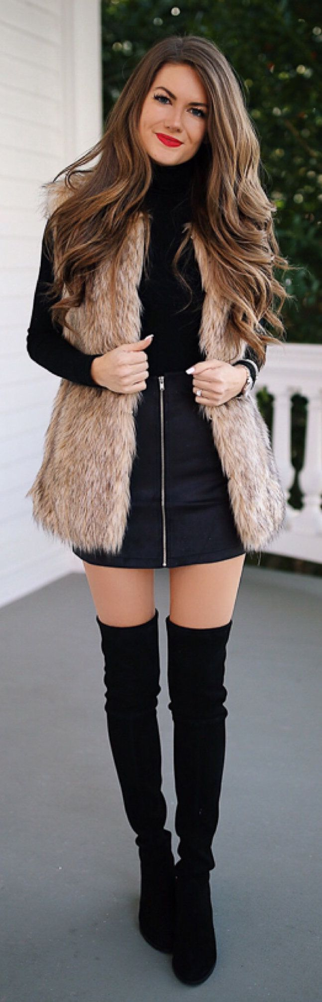 fantastic winter outfits to stand out from the crowd long