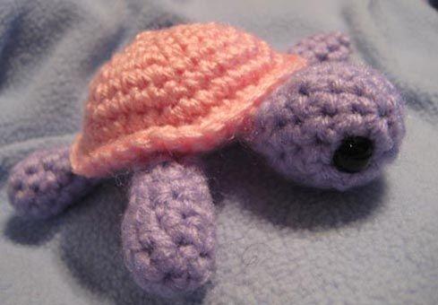 Cute sea turtle - free pattern | Crochet | Pinterest | Schildkröten ...