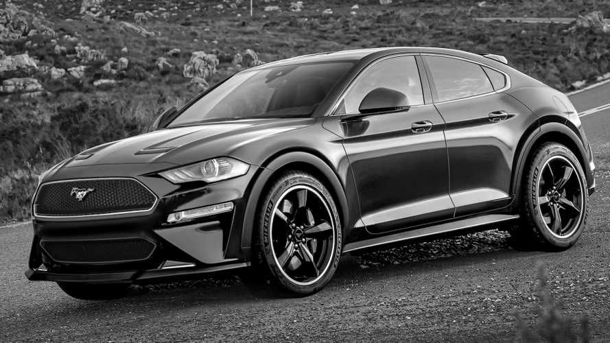 Update Ford Mustang Mach E Electric Cuv Debuts With Up To 300