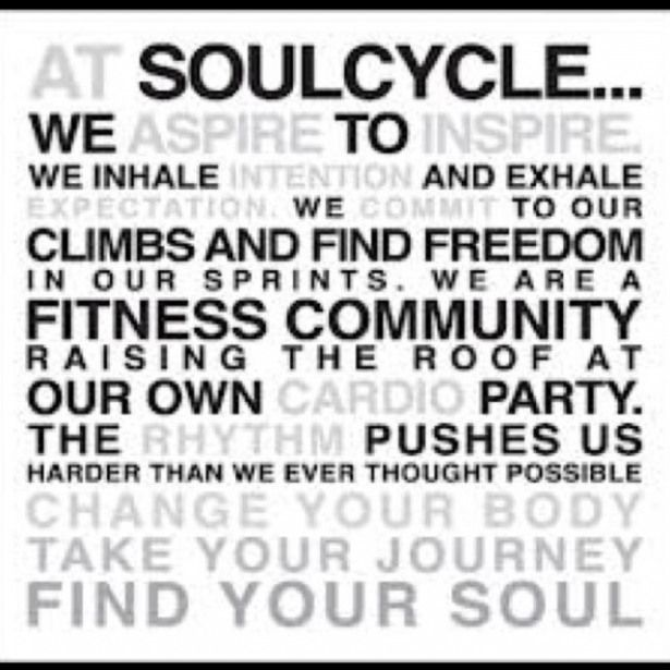 soul cycle for the soul Another amazing workout  Best spin class ever