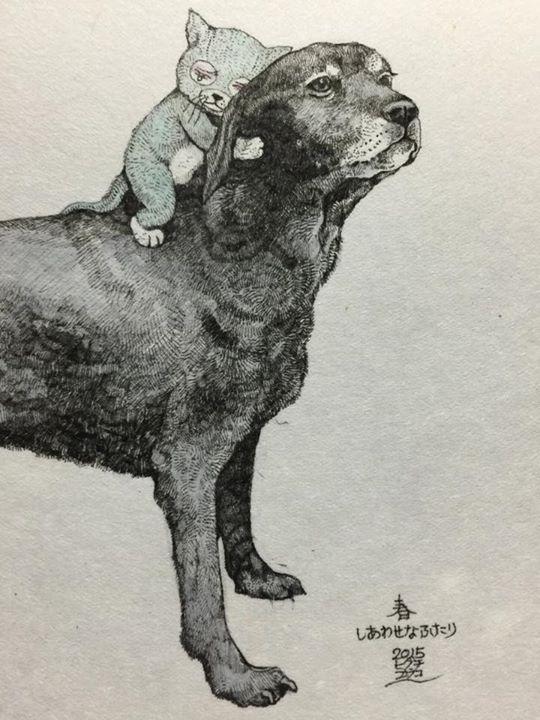 Yuko Higuchi | art | Pinterest | Anatomía, Gato y Animales
