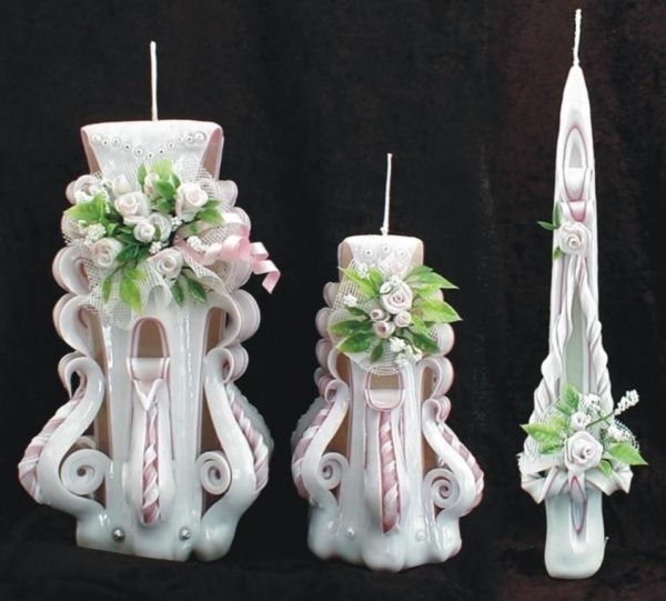Quality Hand Carved Candles for sale