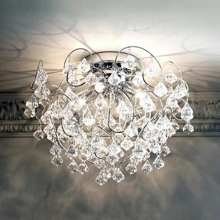 Layla Droplet Four Light Fitting Dunelm 163 54 99 Ceiling