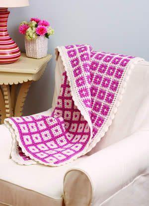 Z7442 Interlocking Crochet  - http://www.maggiescrochet.com/interlocking-crochet-p-2341.html#.UW2nbbVkx30 #crochet #pattern #interlocking #afghan #unique #design