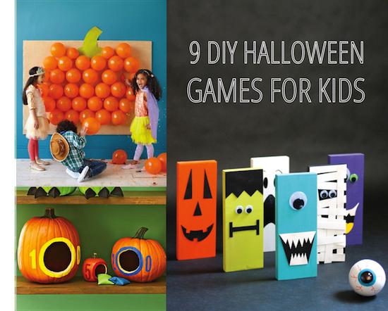 9 Fun Diy Halloween Games For Kids Halloween Games Diy Halloween