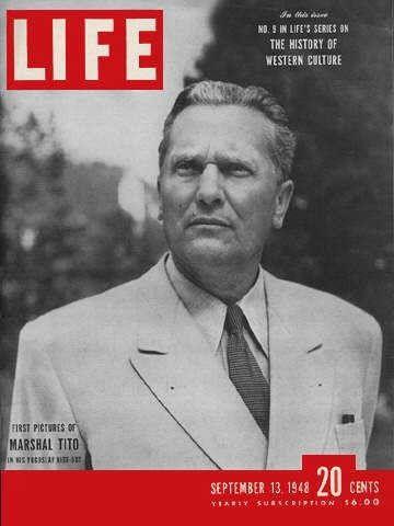 Tito - Life Magazine Cover 1948