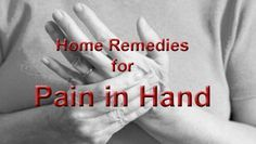 Pain in hand or hands is the mainly general type of arthritis. It happens due to the breakdown of th...