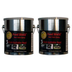 Pond Armor Pond Shield Epoxy 1 1 2 Gallon Kit Gray By Pond Armor 299 16 What Is Pond Shield What Is Pond Shield Epoxy Water Gardens Pond Pond Garden Pond