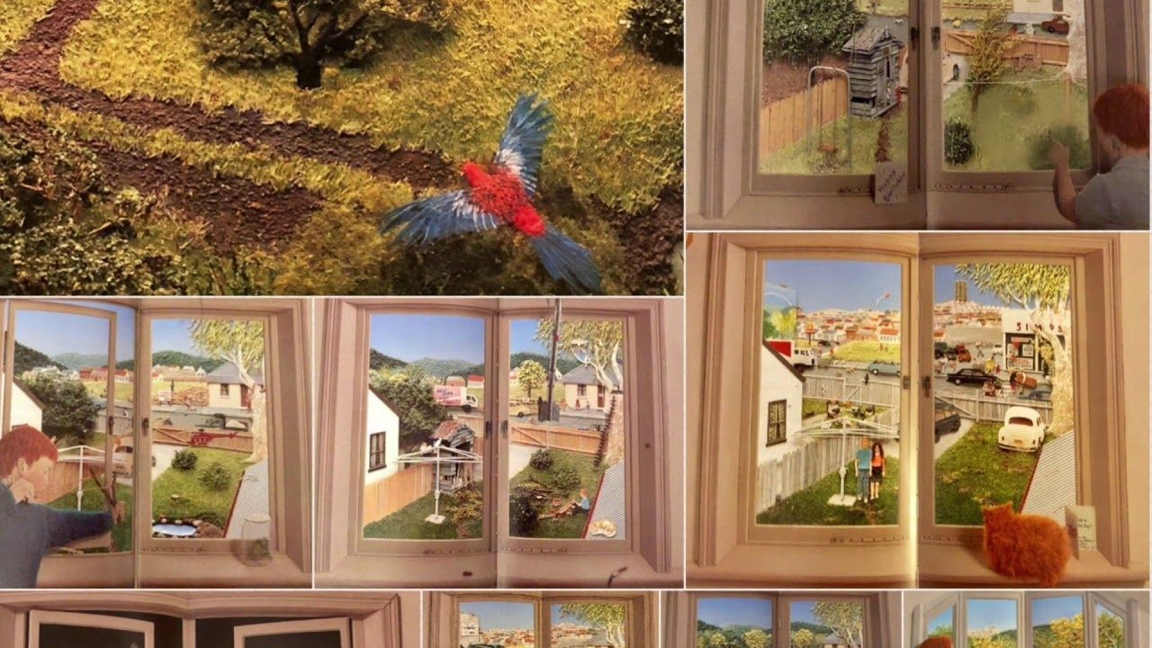 Window by Jeannie Baker - YouTube  Windows, Wordless picture