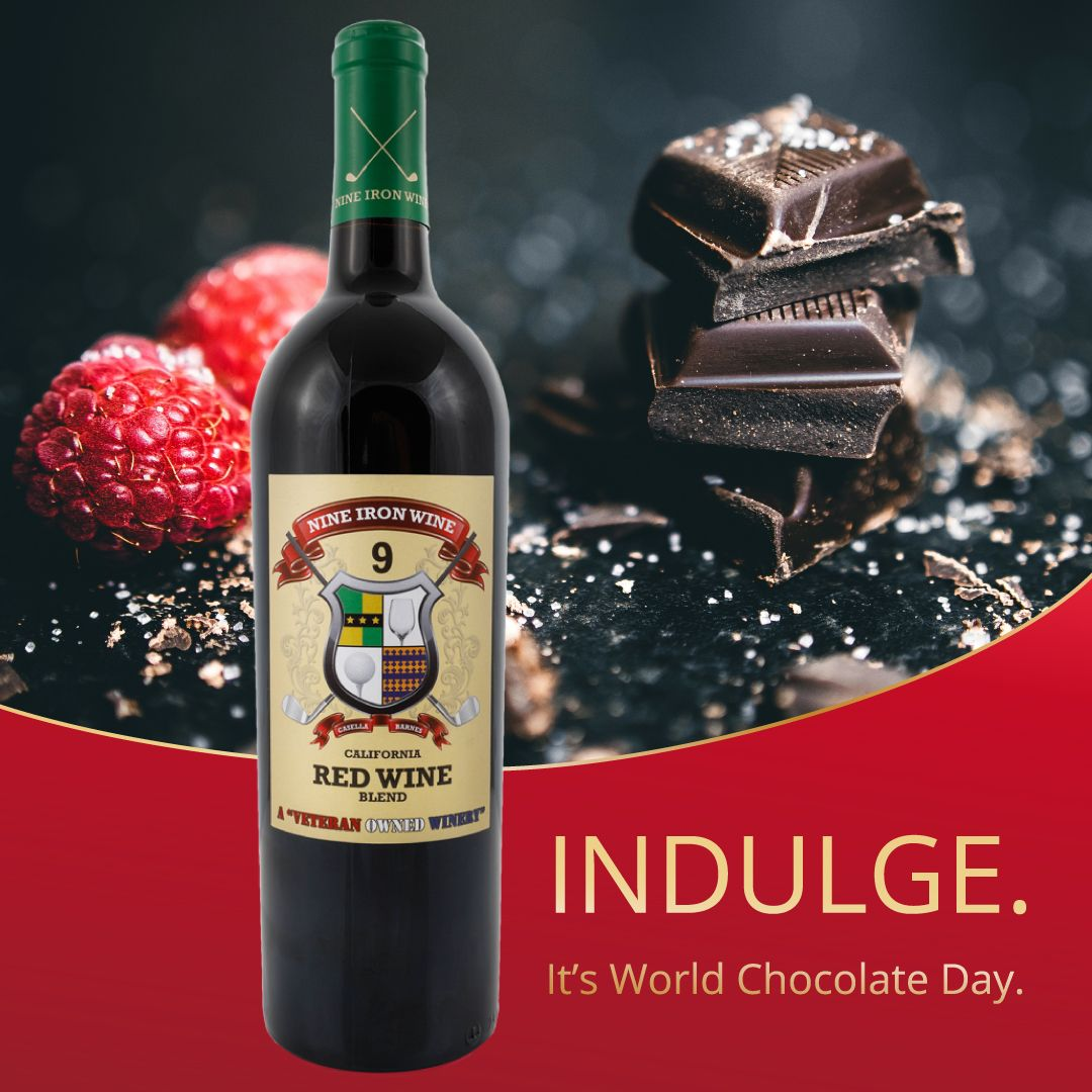 Our Red Wine Blend Features The Bright And Fresh Flavors Of Cherries Raspberries And Vanilla All Of Which Go Well With Ch Red Blend Wine Wine Chocolate Day