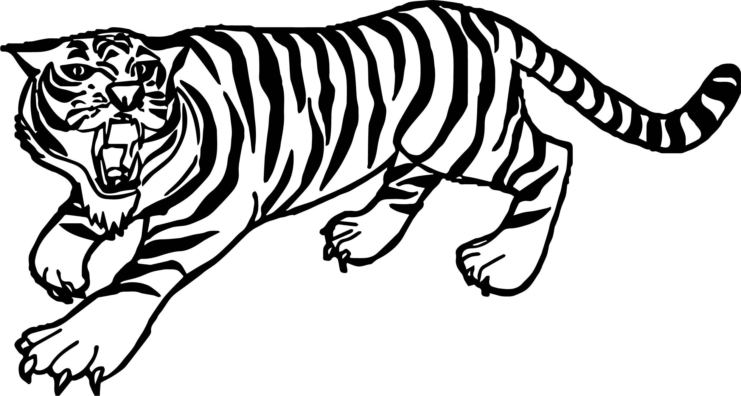 Cool Tiger Yell Coloring Page Tiger Coloring Pages Animal Coloring Pages Mandala Coloring Pages