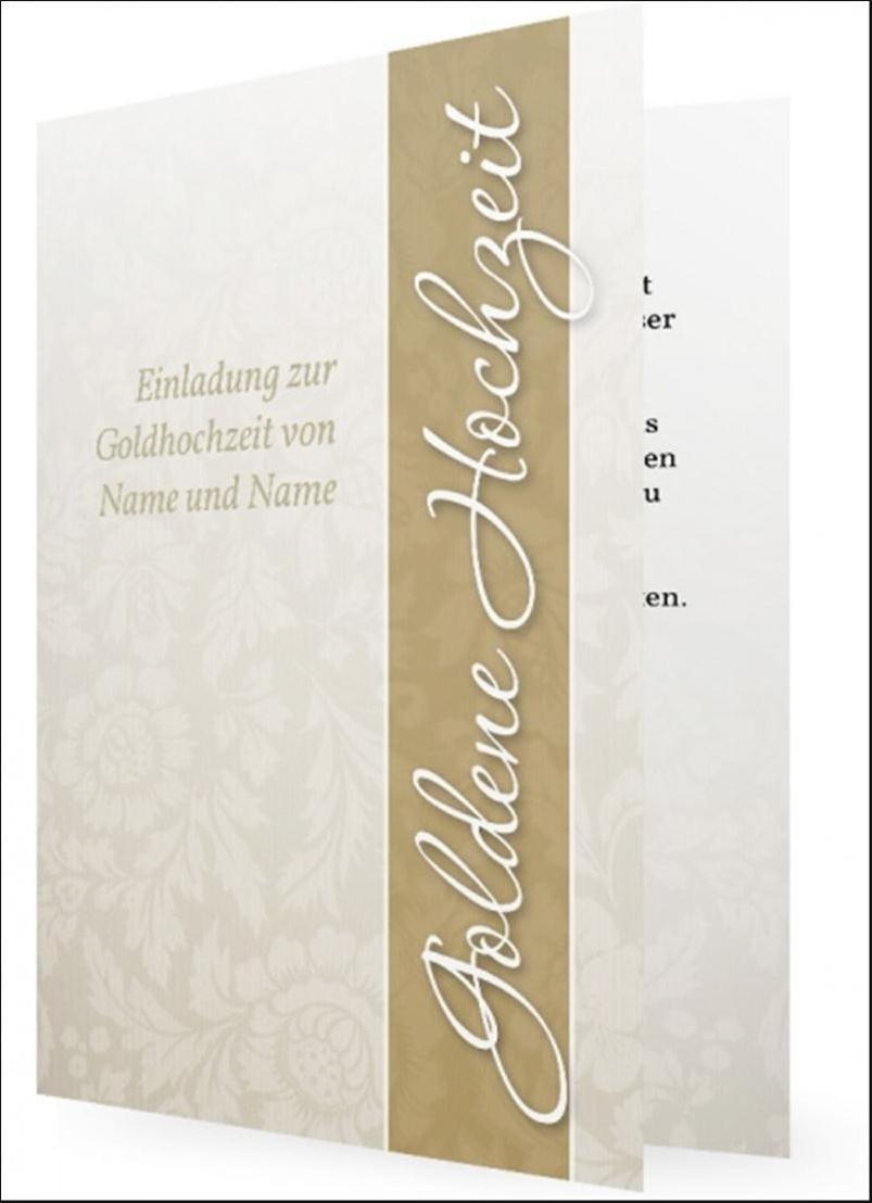 Goldene Hochzeit Einladungstexte Kostenlos Goldene Hochzeit Lustige