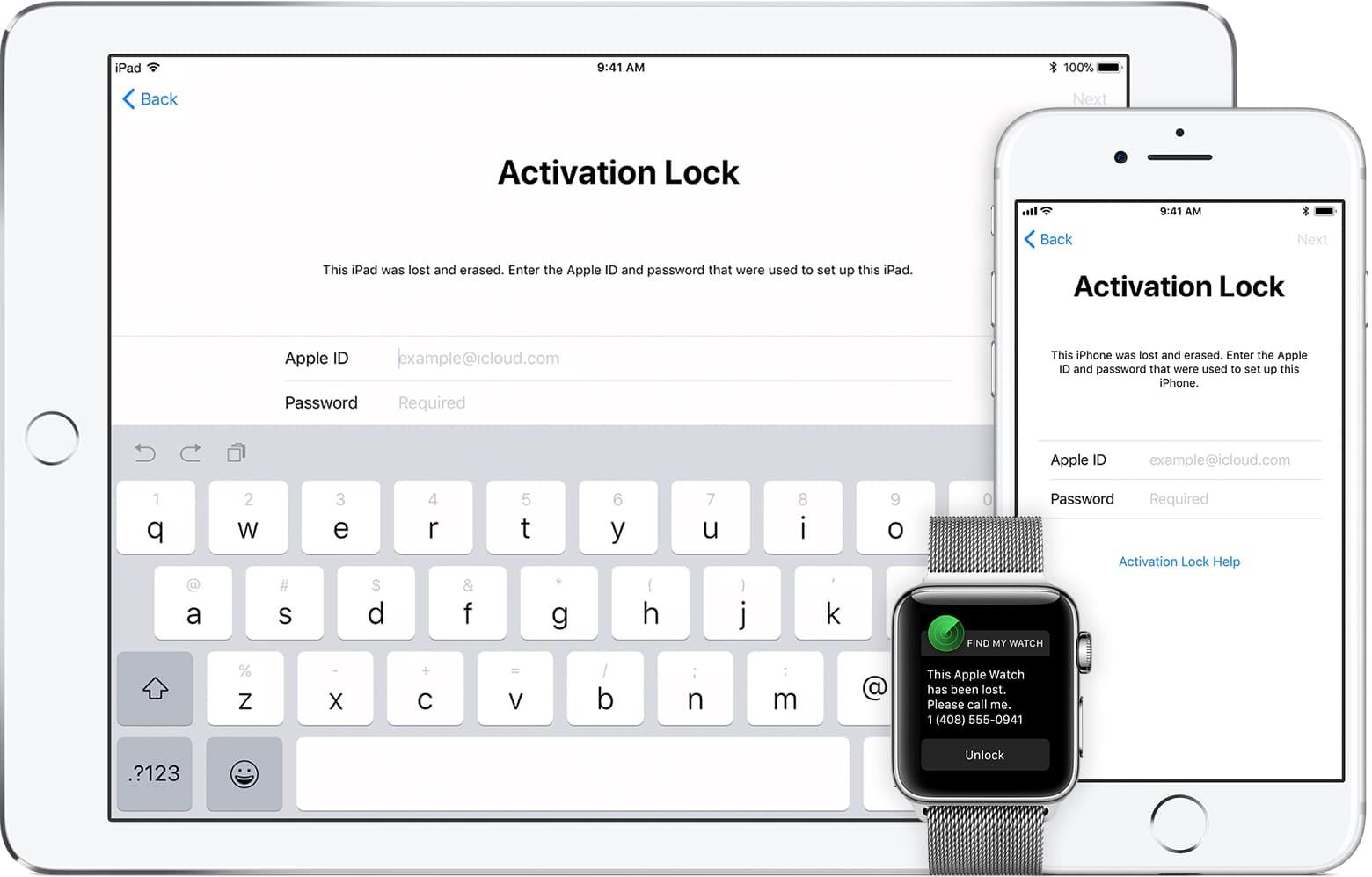 is it possible to bypass activation lock on apple watch