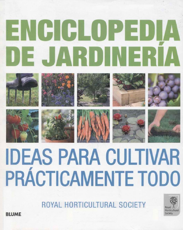 Botanica jardineria libro enciclopedia de jardineria - Libros sobre jardineria ...