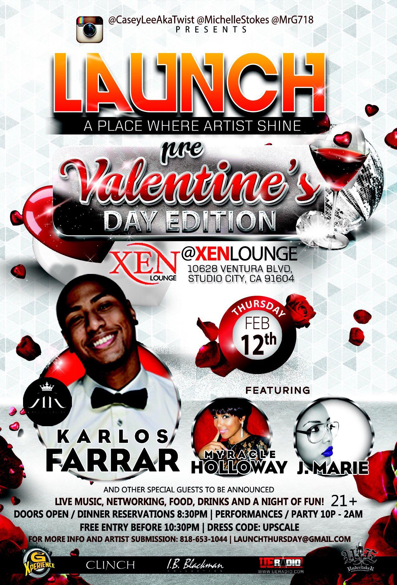 Pre Valentines Affair In Los Angeles At Xen Lounge In Studio City Studio City Studio Live Music