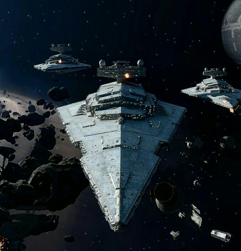 Imperial Star Destroyer Fleet Star Wars Ships Star Wars Pictures Star Wars Empire