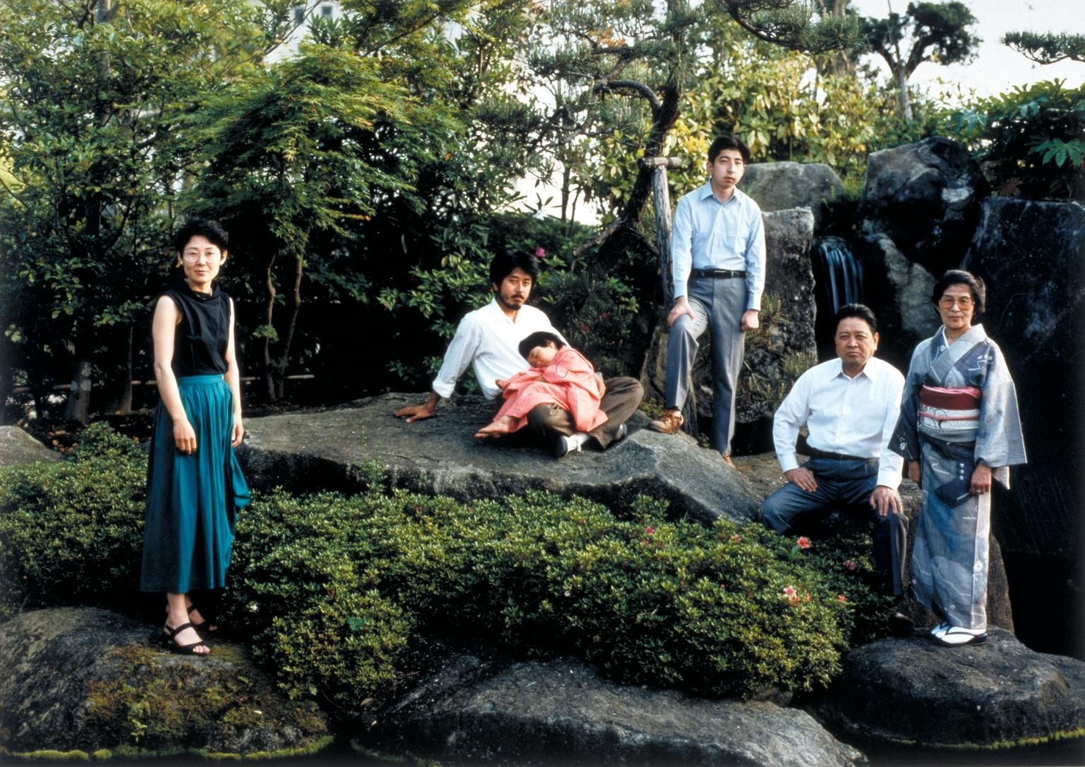 Thomas Struth, 'The Shimada Family, Yamaguchi, Japan 1986' 1986