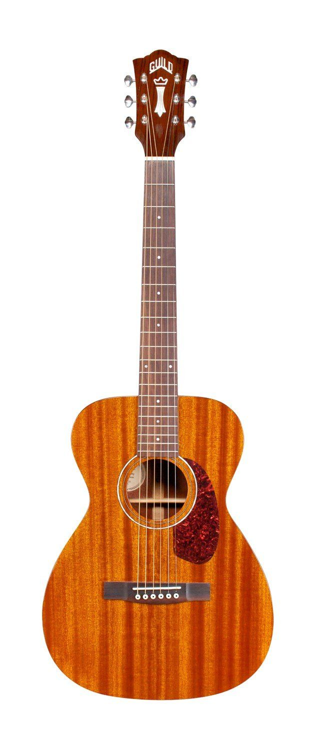 Guild M 120 Acoustic Guitar In Natural Concert Size With 24 3 4