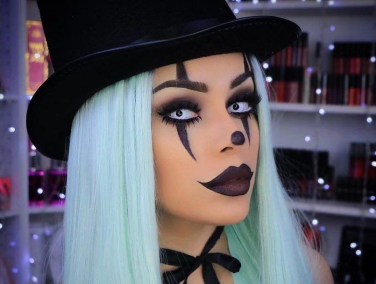 15 \u201cIt\u201d- Inspired Clown Makeup Looks for Halloween that Flooded - no cost halloween costume ideas
