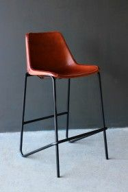 Admirable Nero Black Metal Bar Stool In 2019 Office Design Leather Ncnpc Chair Design For Home Ncnpcorg