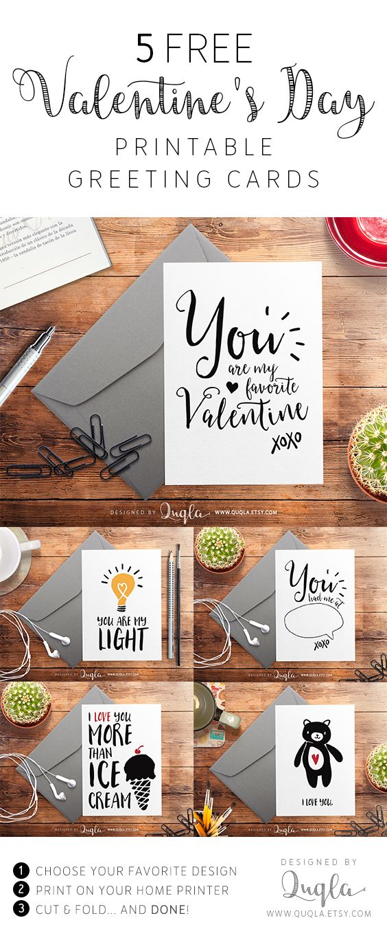 free valentine s day printable greeting cards free printables