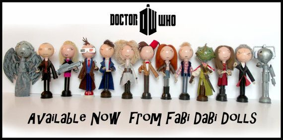 Dr Who Matt Smith Fabi DaBi Doll Collector Peg by totallyfabi