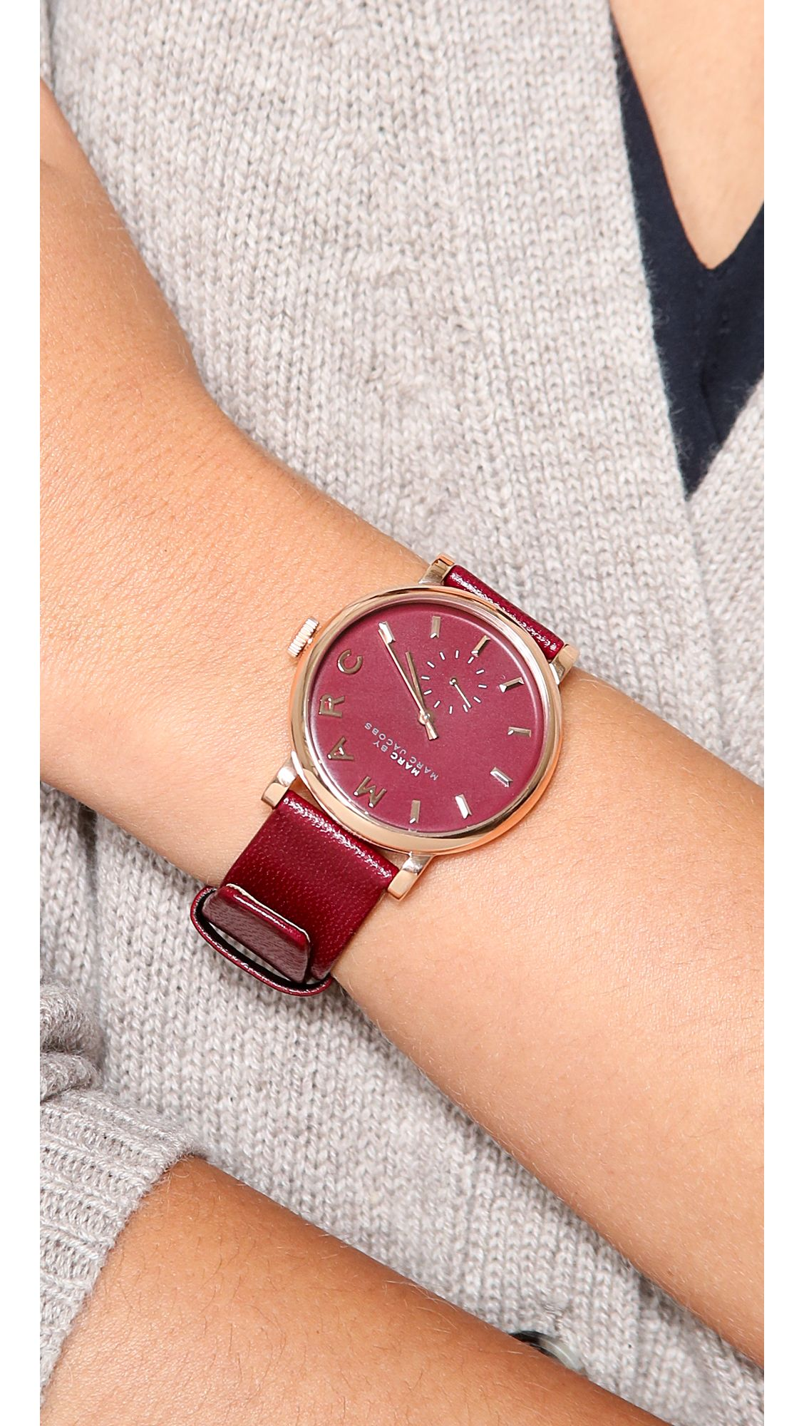 your front watches collectioncropped on watch swiss maroon personalised custom classic name of made page dial