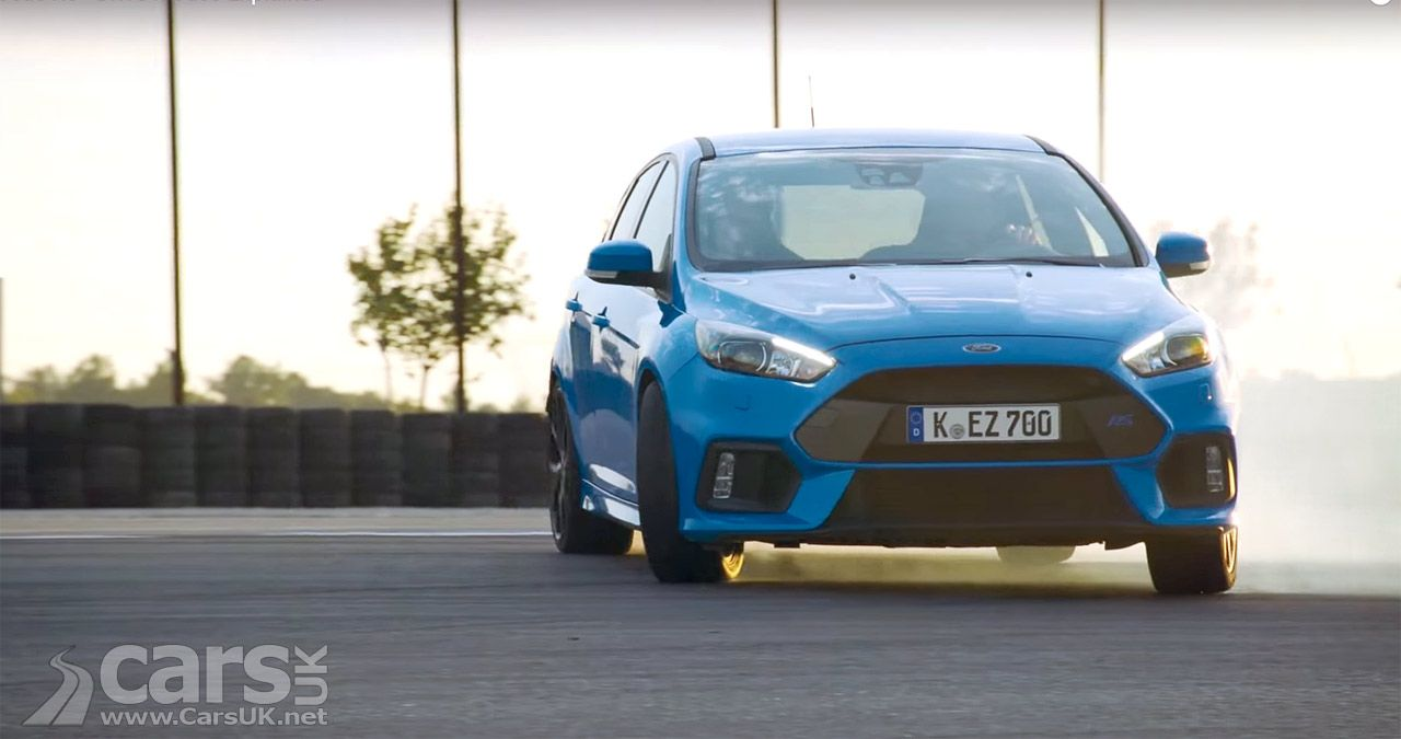 Ford Focus Rs Drive Modes Explained By The Man Who Was The Stig