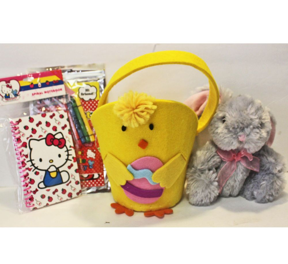 Add Your Own Candy Chick Easter Basket, Mini Bunny - Girl