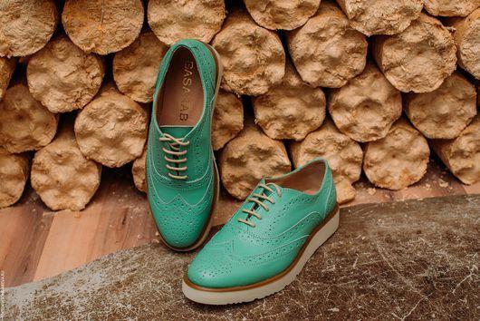 Обувь ручной работы. Ярмарка Мастеров - ручная работа. Купить Женские туфли  из натуральной кожи 0c4eddf2b15