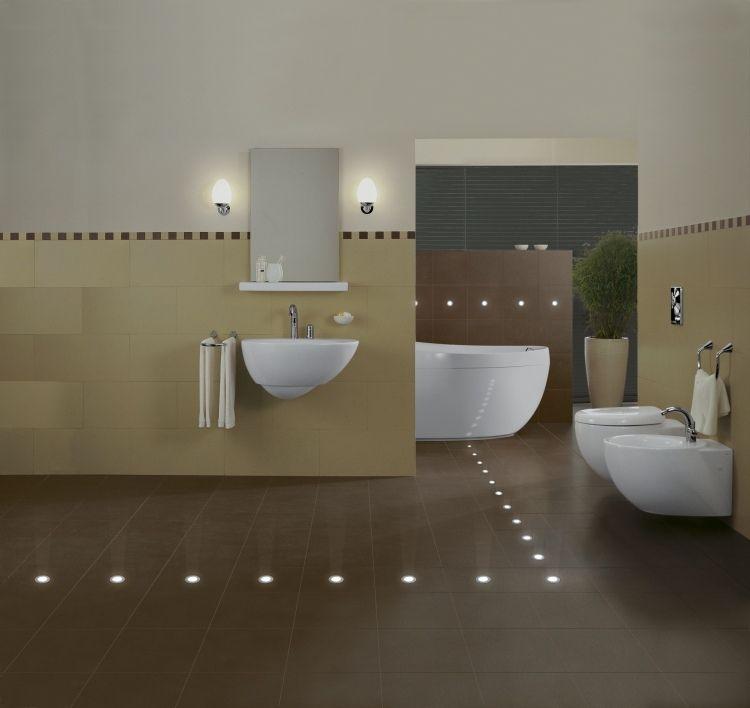 Led In Fliesen Einbauen Ideen Fr Indirekte Beleuchtung Innen Led - led beleuchtung im badezimmer