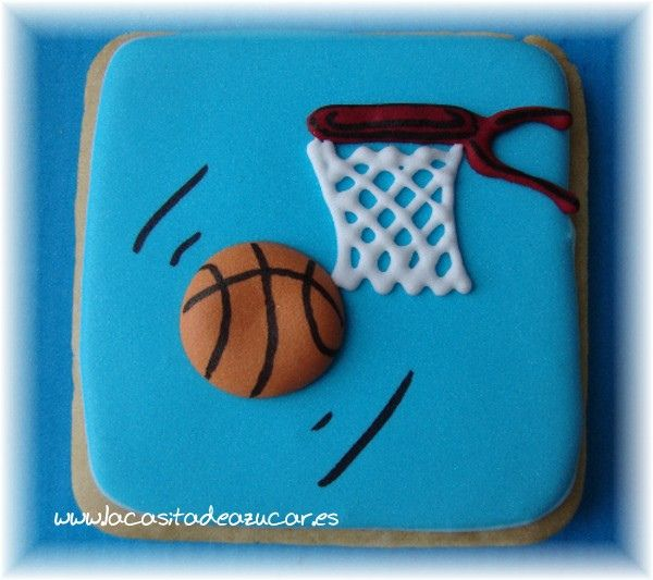 Excellent basketball cookies.