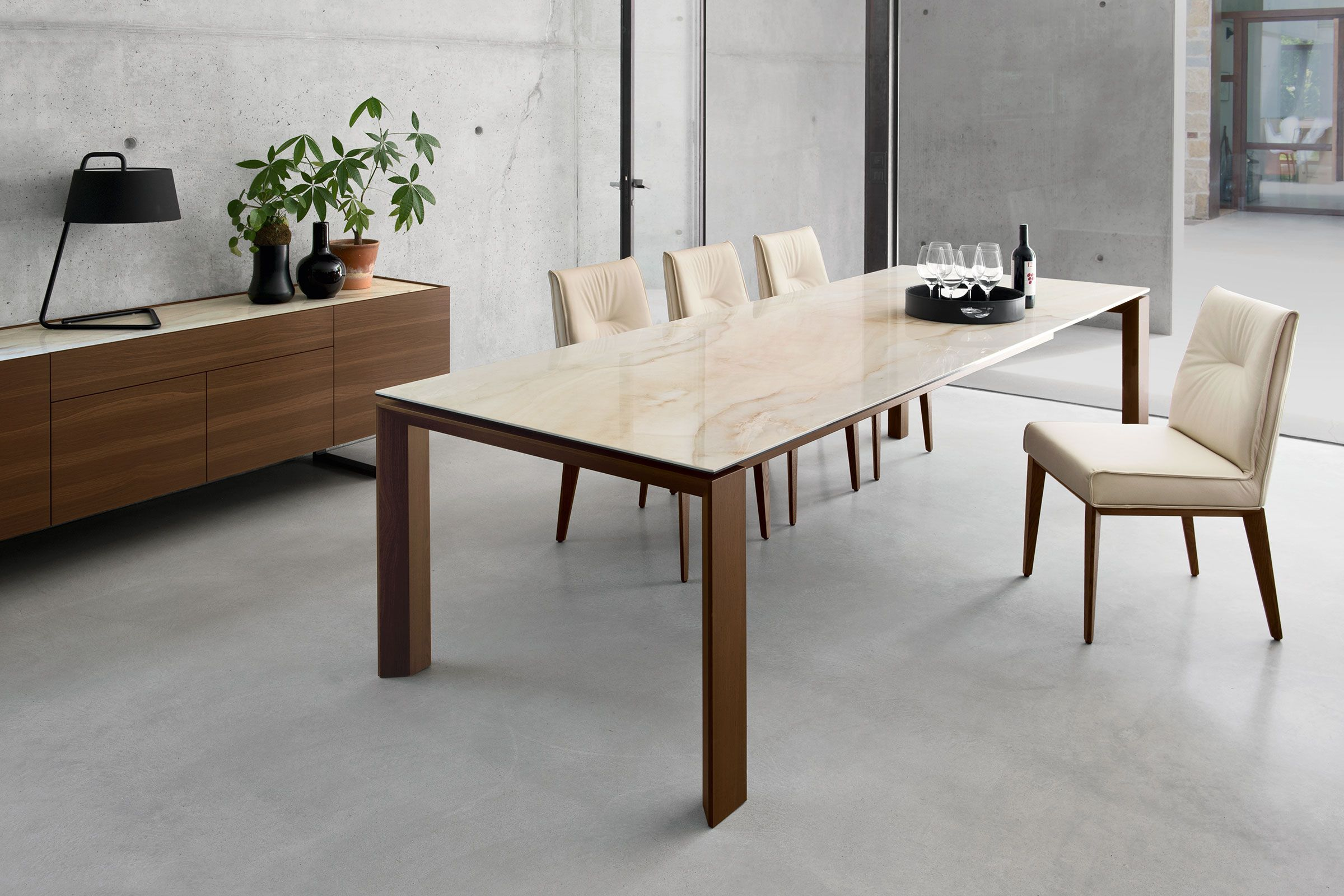 Omnia Japanese Dining Table Dining Table Extendable Dining Table
