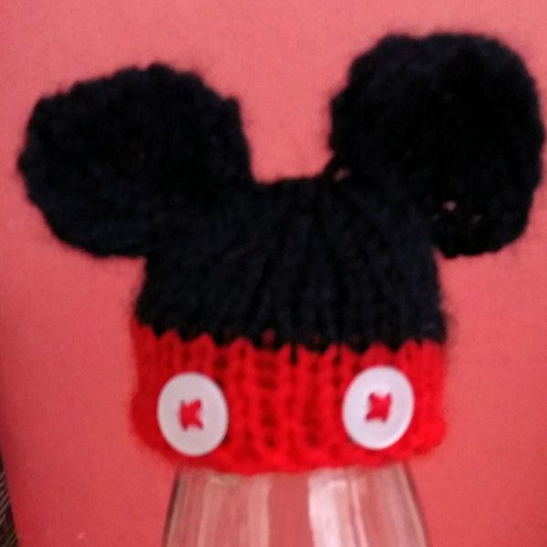 a4dbf2f22 Find this Innocent Smoothies Big Knit Hat Pattern Mickey Mouse ...