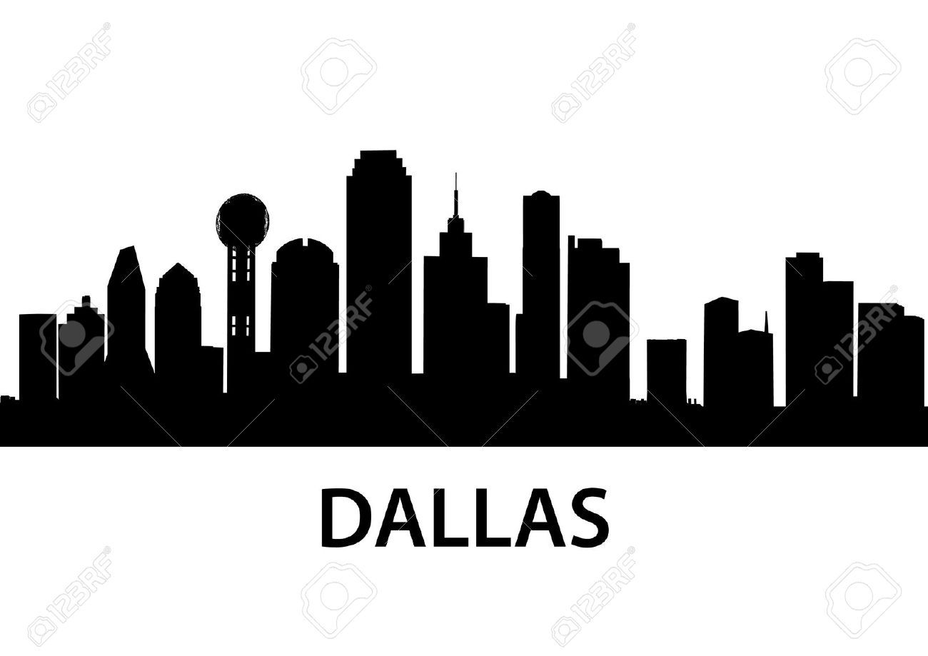 dallas skyline outline google search favorite gifts pinterest